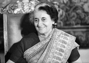 इंदिरा गांधी – भारताच्या ३ र्या पंतप्रधान